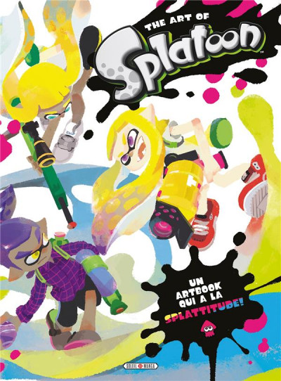 Couverture The art of splatoon