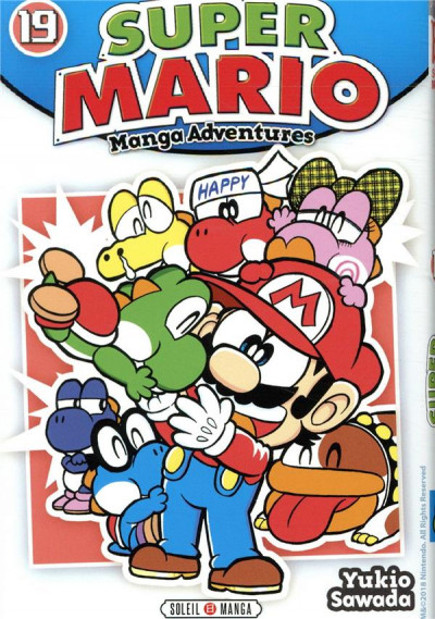 Couverture Super Mario - manga adventures tome 19