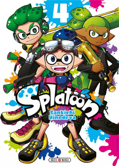 Couverture Splatoon tome 4