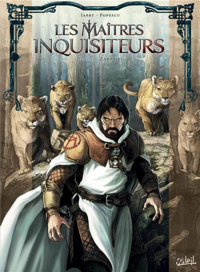 Couverture Les maîtres inquisiteurs tome 11 - Zakariel