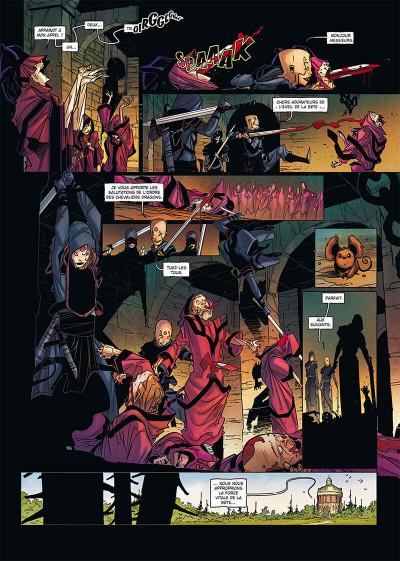 Page 2 La geste des chevaliers dragons tome 27 + ex-libris offert