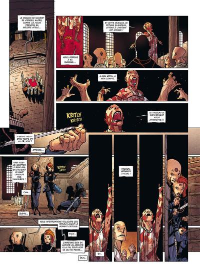 Page 3 La geste des chevaliers dragons tome 27 + ex-libris offert