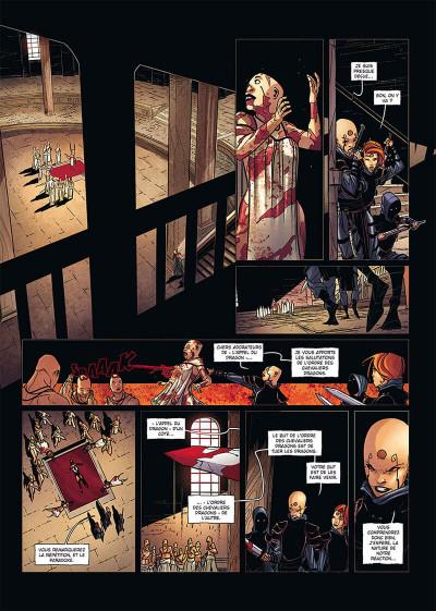 Page 4 La geste des chevaliers dragons tome 27 + ex-libris offert