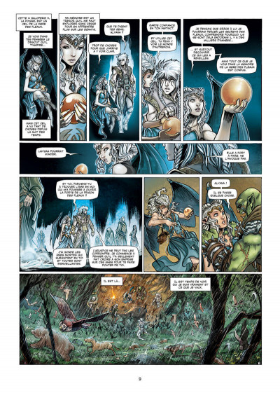Page 9 Elfes tome 23