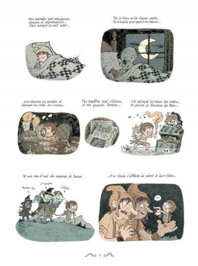 Page 3 Le détective du bizarre tome 1