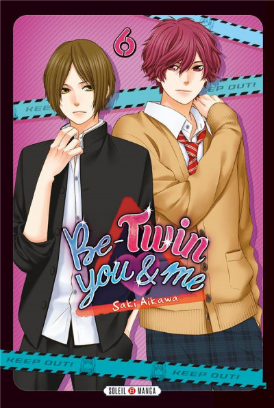Couverture Be-twin you & me tome 6