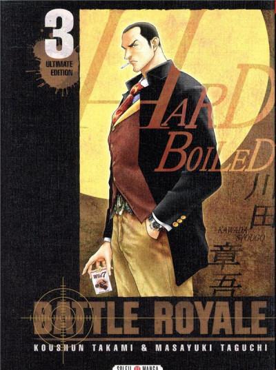 Couverture Battle royale - ultimate édition tome 3