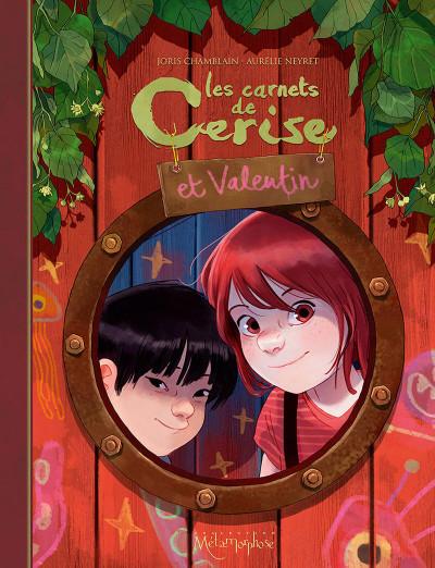 Couverture Les carnets de Cerise et Valentin