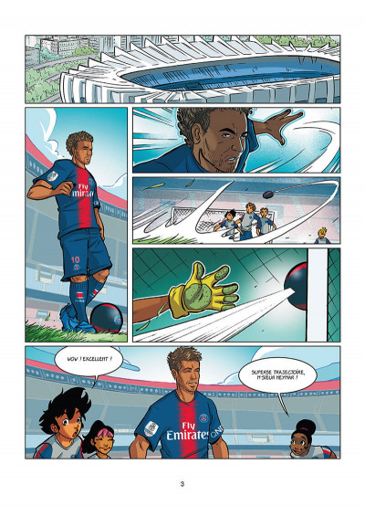 Page 1 PSG academy dream team tome 2 - Paris do Brasil !