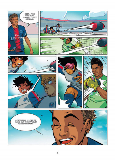 Page 2 PSG academy dream team tome 2 - Paris do Brasil !