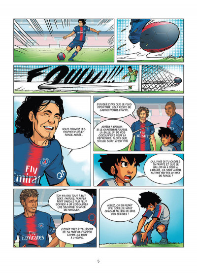 Page 3 PSG academy dream team tome 2 - Paris do Brasil !