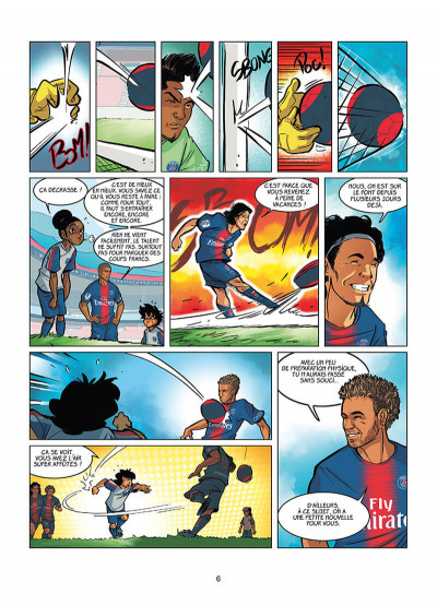 Page 4 PSG academy dream team tome 2 - Paris do Brasil !