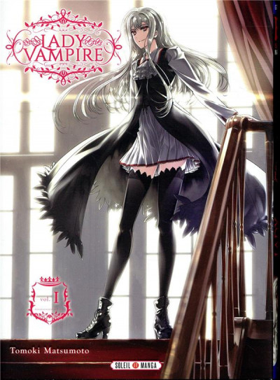 Couverture Lady vampire tome 1