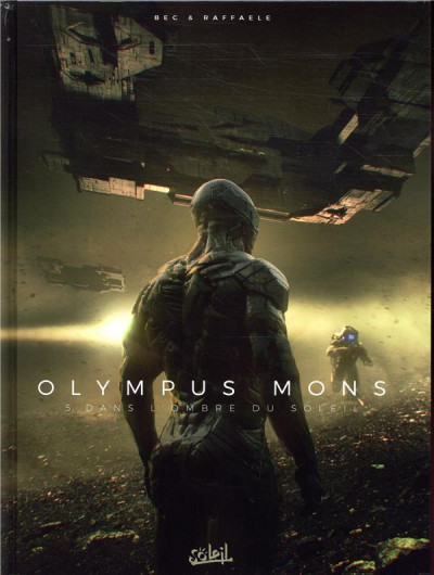 Couverture Olympus mons tome 5