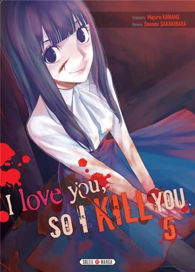 Couverture I love you so i kill you tome 5