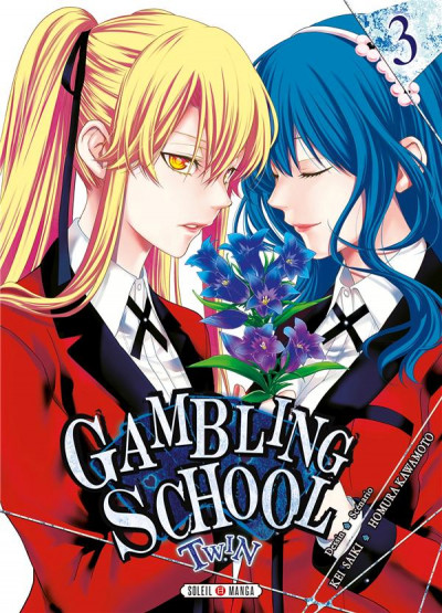 Couverture Gambling school - twin tome 3