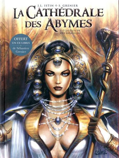 Couverture La cathédrale des abymes tome 2