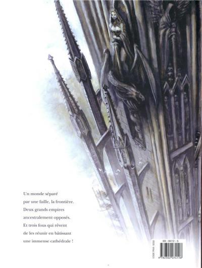 Dos La cathédrale des abymes tome 2
