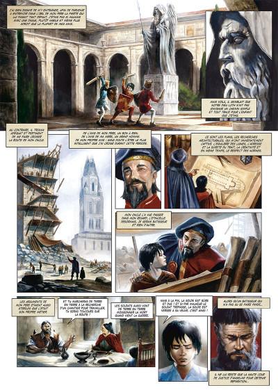 Page 2 La cathédrale des abymes tome 2