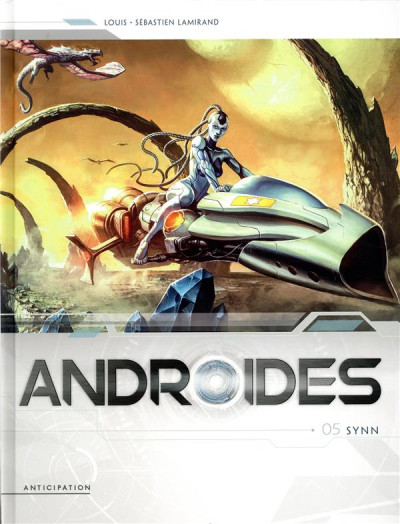 Couverture Androïdes tome 5