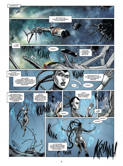 Page 1 Androïdes tome 5