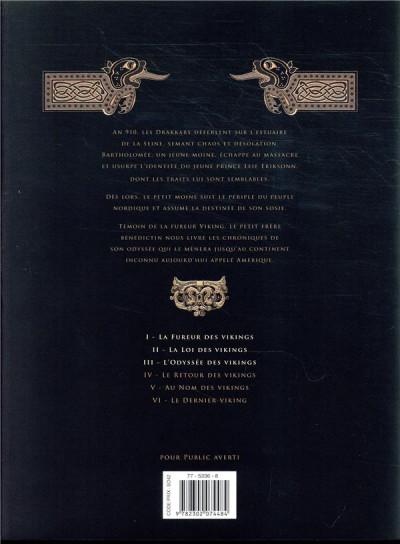 Dos Les chroniques barbares - intégrale tomes 1 à 3