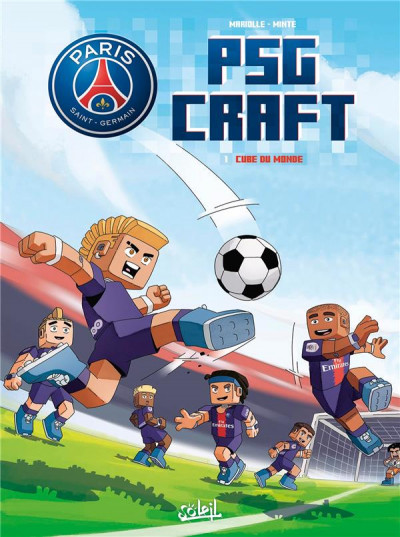 Couverture PSG craft tome 1
