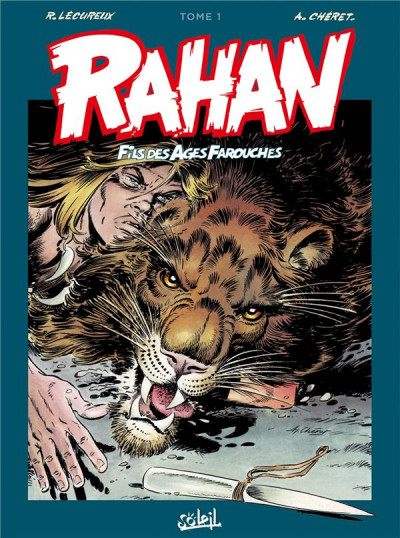 Couverture Rahan - intégrale tome 1