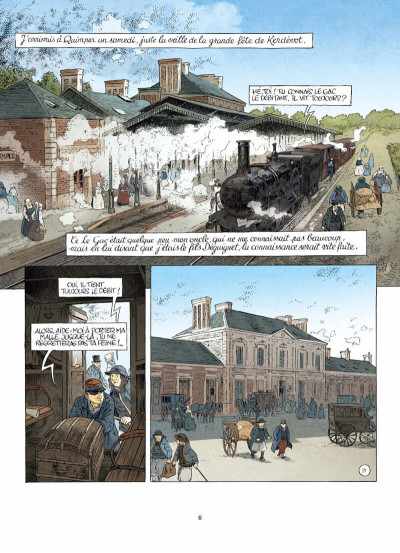 Page 6 Mémoires d'un paysan bas-breton tome 3