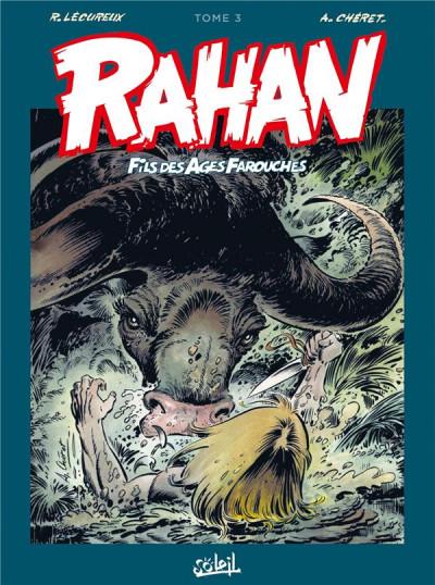 Couverture Rahan - intégrale tome 3