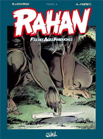 Couverture Rahan - intégrale tome 4