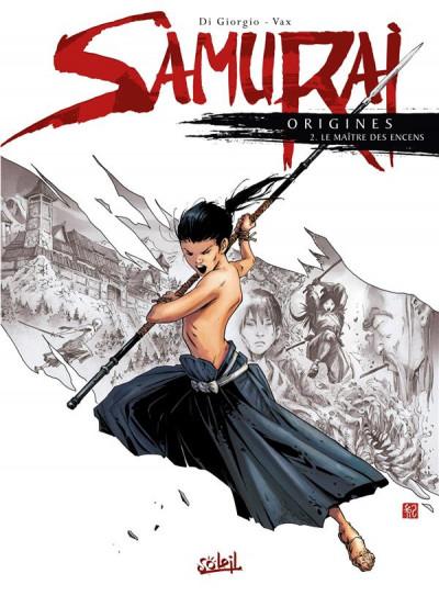 Couverture Samurai origines tome 2
