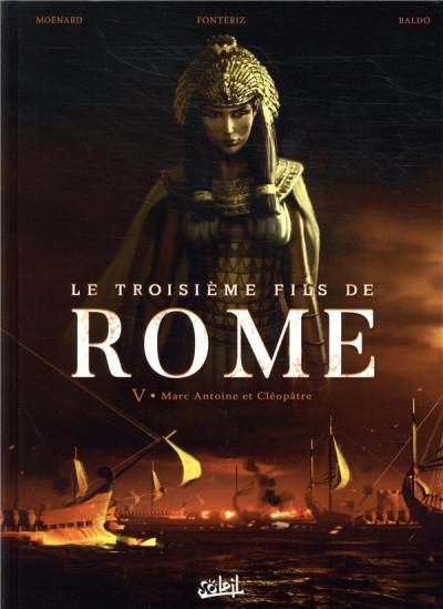 Couverture Le troisième fils de Rome tome 5