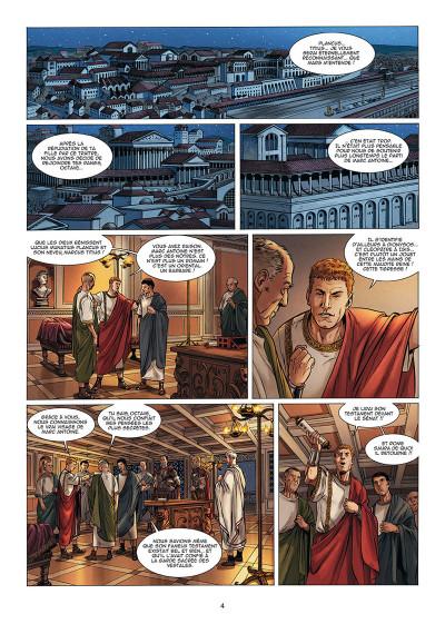 Page 2 Le troisième fils de Rome tome 5