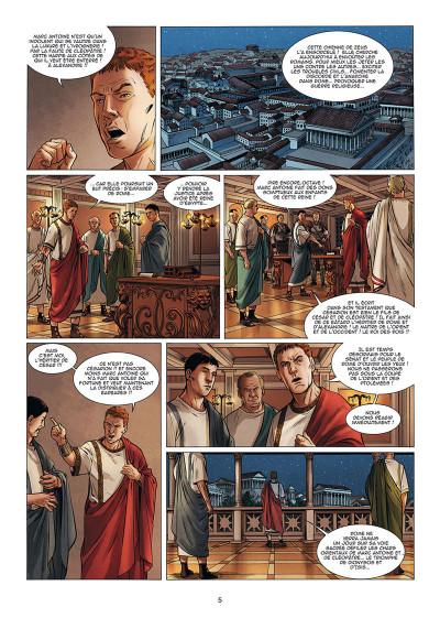 Page 3 Le troisième fils de Rome tome 5
