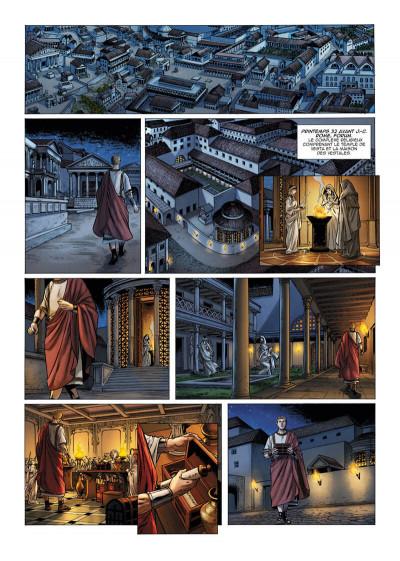 Page 4 Le troisième fils de Rome tome 5