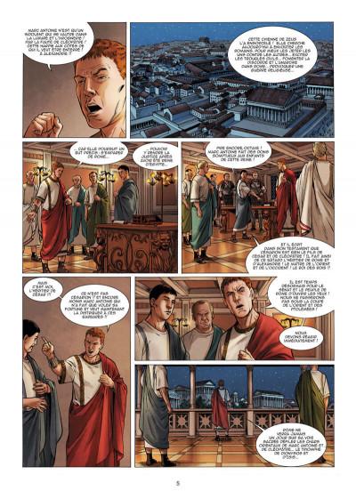 Page 6 Le troisième fils de Rome tome 5