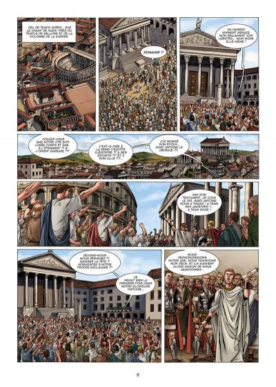 Page 7 Le troisième fils de Rome tome 5