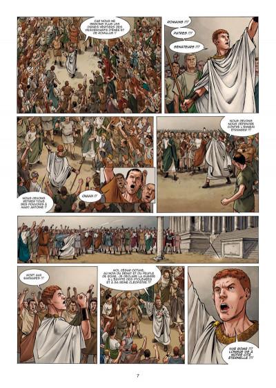 Page 8 Le troisième fils de Rome tome 5