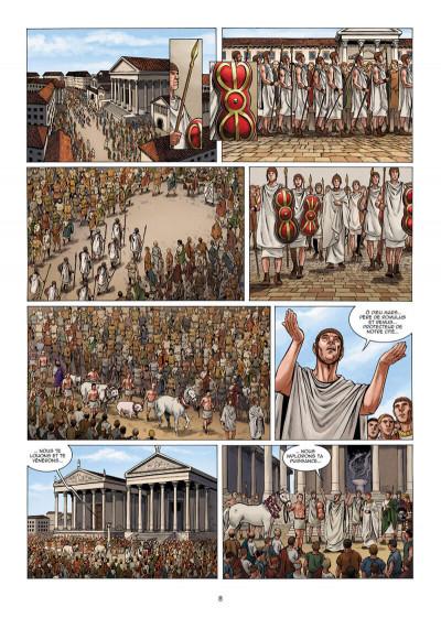 Page 9 Le troisième fils de Rome tome 5