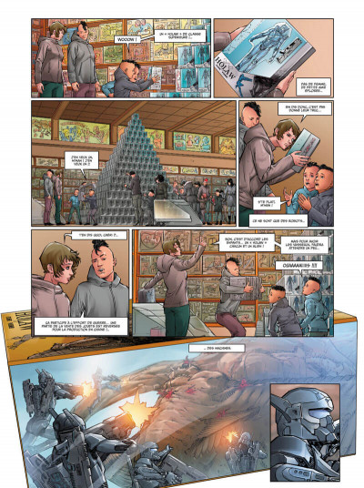 Page 4 Androïdes tome 6