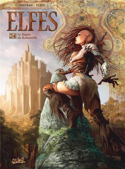 Couverture Elfes tome 24
