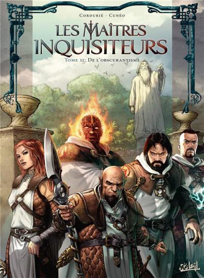 Couverture Les maîtres inquisiteurs tome 12