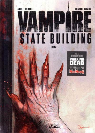 Couverture Vampire state building tome 1 + ex-libris offert