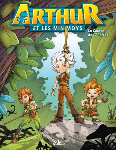 Couverture Arthur et les Minimoys tome 1