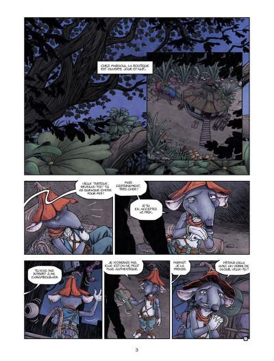 Page 3 Arthur et les Minimoys tome 1