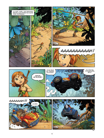 Page 4 Arthur et les Minimoys tome 1