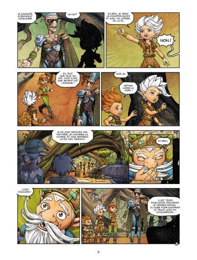 Page 9 Arthur et les Minimoys tome 1