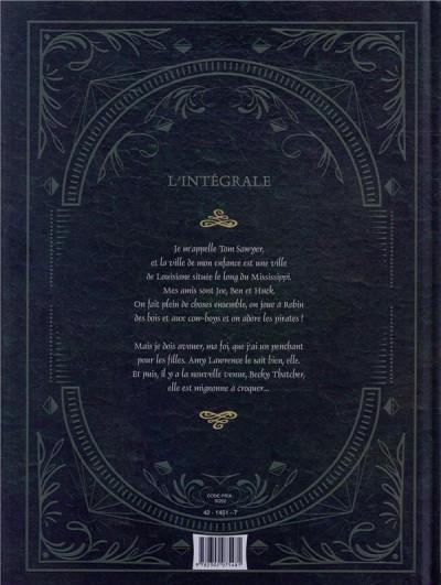 Dos Les aventures de Tom Sawyer - intégrale