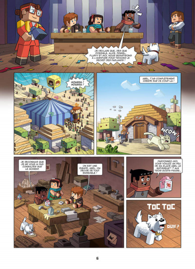 Page 6 Frigiel et Fluffy tome 5